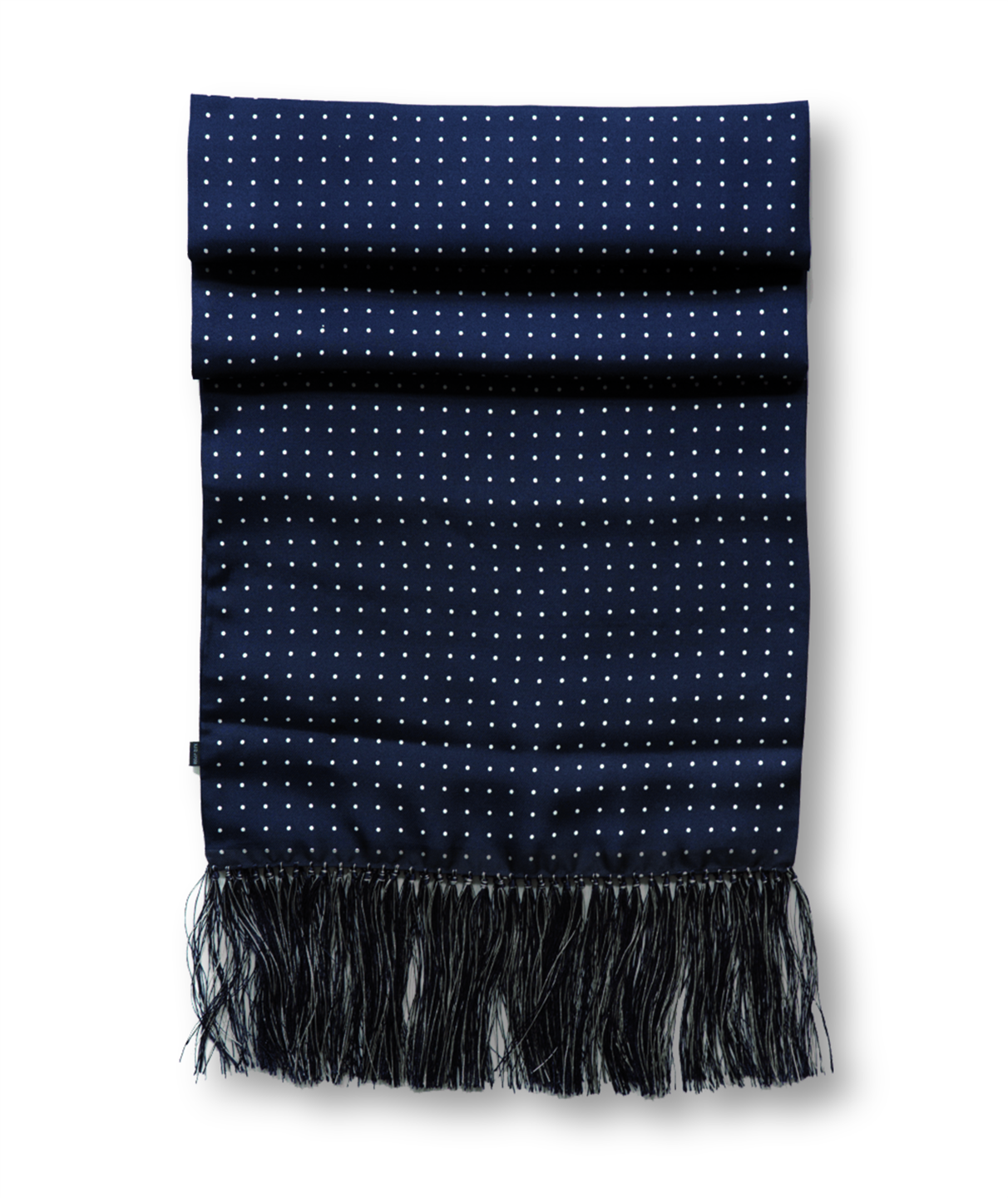 HUNTSMAN NAVY SILK SCARF copia (Custom)