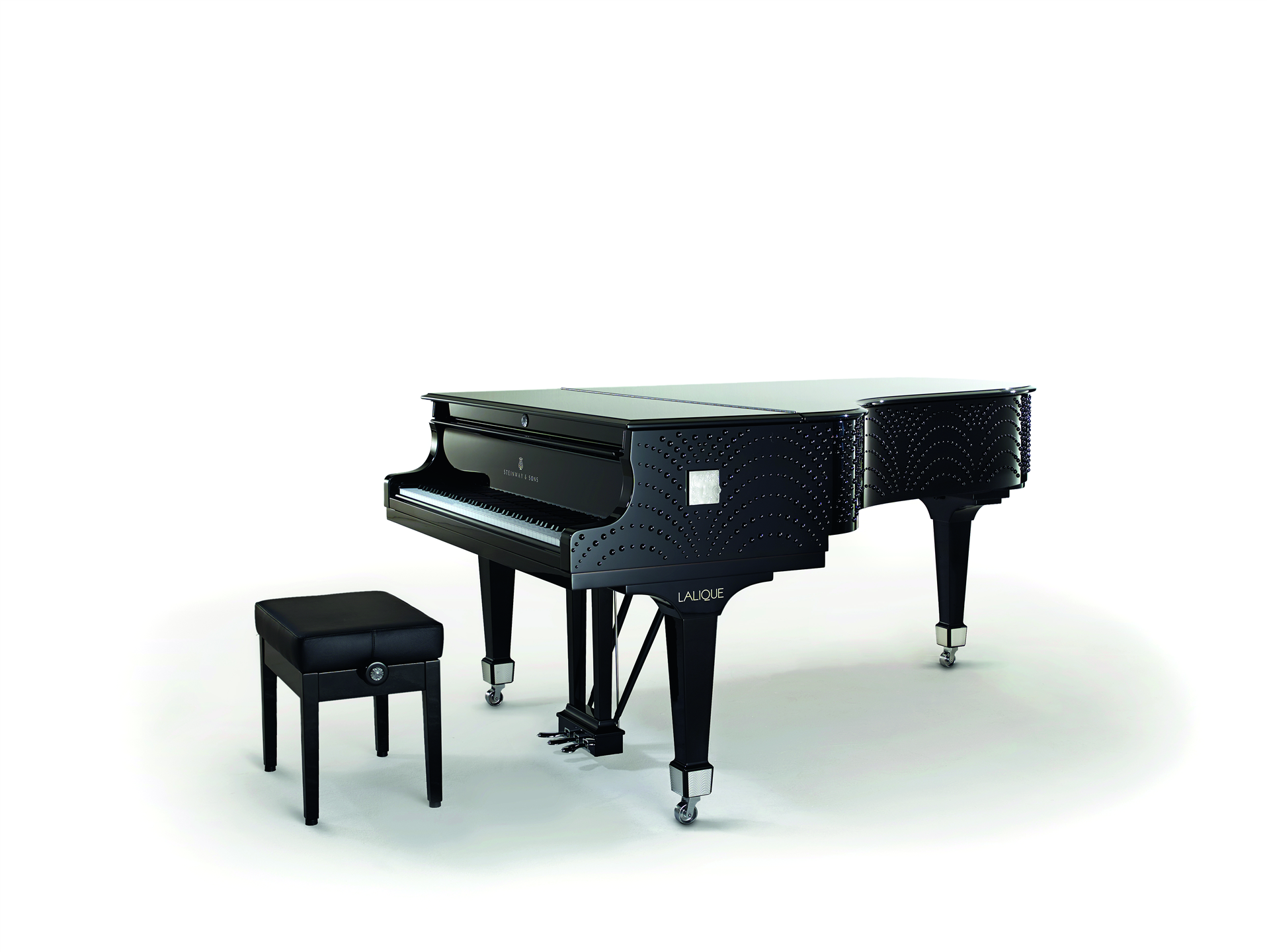 Steinway sons designed by lalique
